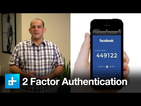 Keep your accounts safe with 2 factor authentication
