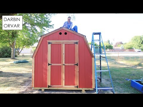 Building a Backyard Shed w/ Ready Shed