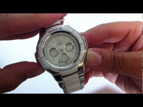 Casio Baby-G Analog Digital - Gemmy Watch BGA120C-7B1