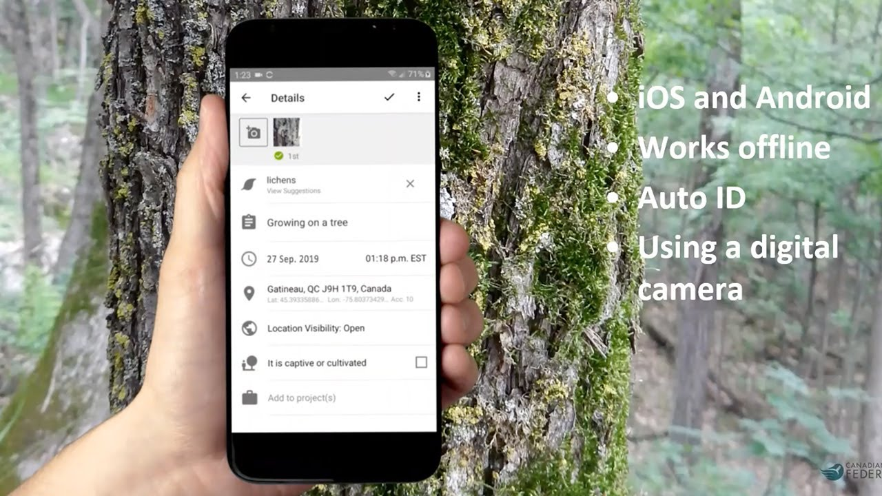 Wildlife Speaker Series - Discovering Nature: there's an app for that!