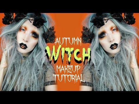 Autumn Witch   Makeup + Hair Tutorial
