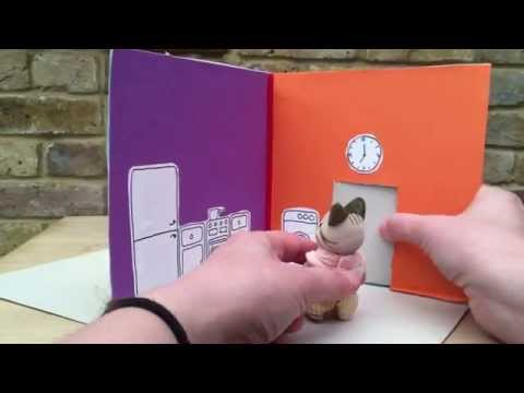Cereal Box Take Along Dolls House Craft