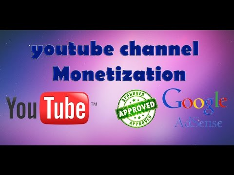 How to create a youtube channel , monetize ur video & add with adsense