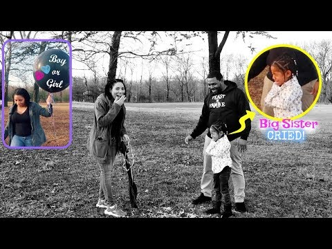 Super Special GENDER REVEAL - BIG SISTER CRIED!