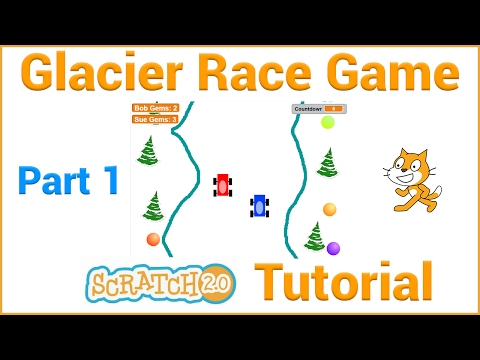 Make a Glacier Race Game in Scratch (Part 1/4)