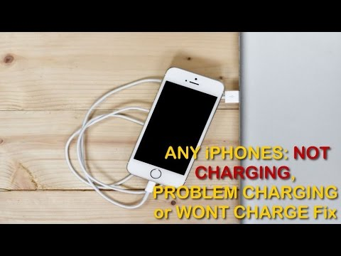 ANY iPHONES: NOT CHARGING, PROBLEM CHARGING or WONT CHARGE Fix