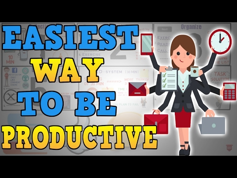 How to Be Productive - Motivational Video Hindi - Getting Things Done summary