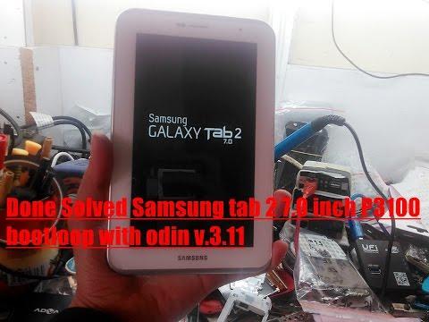 Cara Flash Ulang Galaxy Tab 2 GT P3100 Menggunakan PC + Odin
