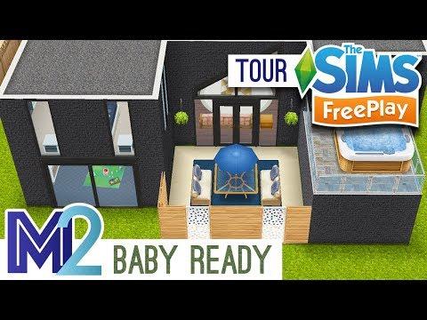 Sims FreePlay - Baby Ready Family Home (Original Design)