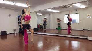 Yasmin Hiasche En Japón- Workshop Expresividad En La Danza Aplicado A Romántico Oriental