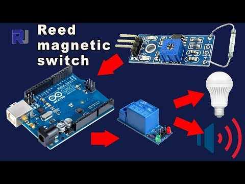 Using Reed magnetic switch with Arduino and Relay