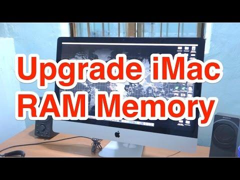 How to Upgrade iMac RAM Memory?