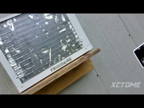 Frigidaire 5K Window Air Conditioner Start up/shut down