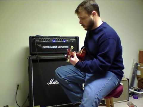 Custom Audio Amplifiers OD100 SE+ and Gibson Les Paul