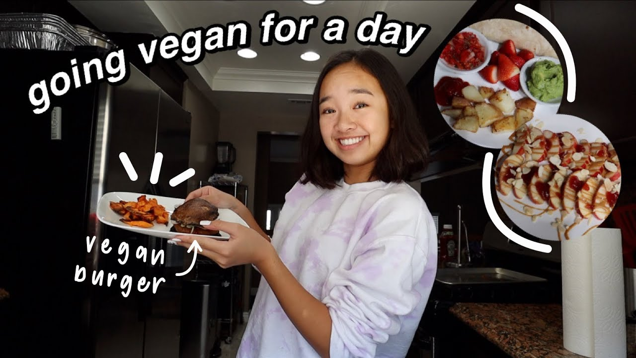 GOING VEGAN FOR A DAY | Nicole Laeno