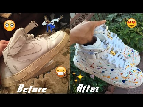 Nike Air Force One FULL RESTORATION/CUSTOMIZATION