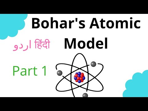 Bohr's atomic model animation in hindi and urdu