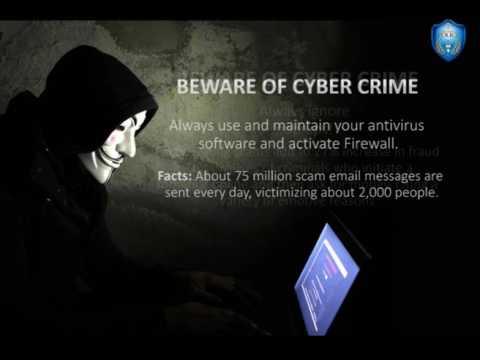 BEWARE OF CYBER CRIME - HYDERABAD POLICE