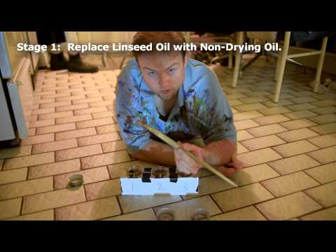 How to Clean Oil Paint from a Brush Without Solvents