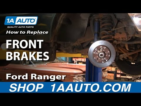 How To Install Replace Front Brakes 93-97 Ford Ranger 2WD 1AAuto.com