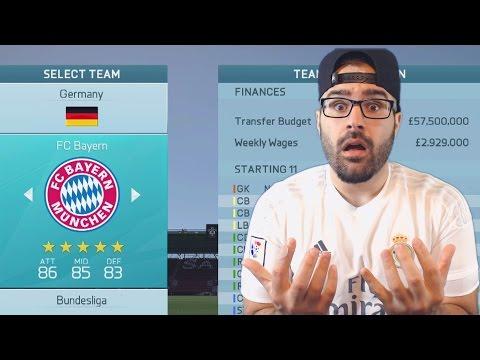 NEW CAREER MODE TEAM!  FIFA 16 Career Mode