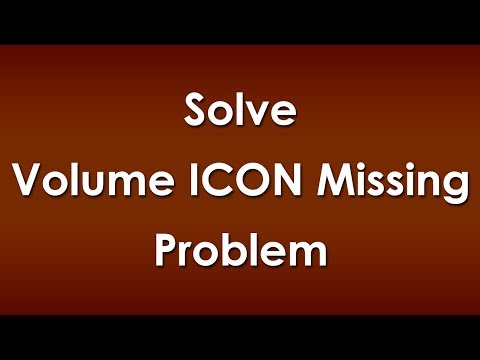 Fix Volume Icon Missing from Taskbar Problem in Windows 8/7/Vista