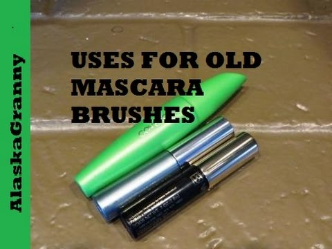 Uses For Old Mascara Wands Or Brushes