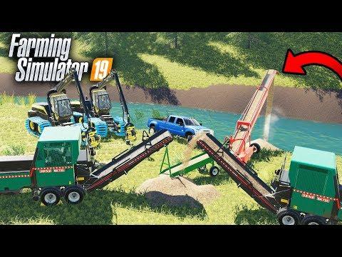 FARMING SIMULATOR 2017 | BRIDGE CONSTRUCTION | MULTIPLAYER