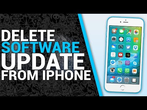 Delete Software Update From iPhone, iPad, iPod Touch IOS 8,9,10,11 (2017/2018)
