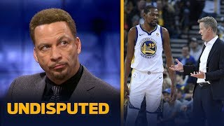 KD's ruptured Achilles 'was a risk' that should've been avoided — Chris Broussard   NBA   UNDISPUTED