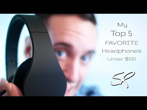 My TOP 5 Favorite Headphones of 2014 Under $100 | A Year in Review