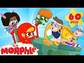 Superheroes Vs Bandits Mila And Morphle Cartoons For Kids Morphle TV