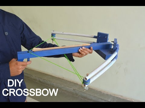 How to Make Crossbow at Home - Do it Yourself