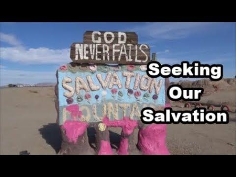 Leonard Knight's Salvation Mountain - Desert Views Road Trip Part 2