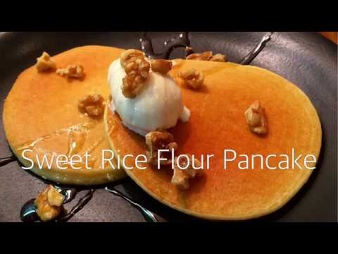 Gluten-free sweets - Sweet Rice Flour Pancake - How to cook
