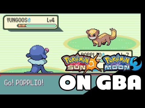 Pokemon Sun and Moon on GBA - Route 1