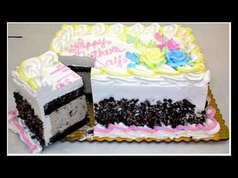 HOMEMADE ICE CREAM CAKES