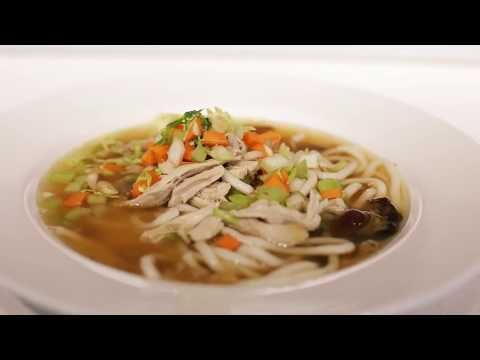 How to make leftover turkey noodle soup - BBC Good Food