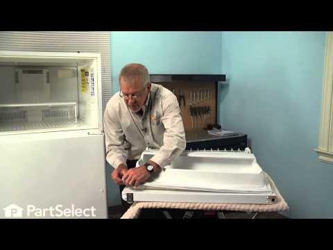 Refrigerator Repair - Replacing the Freezer Door Gasket (Whirlpool Part # 61004009)