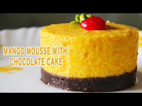 Eggless Mango Mousse | Quick and Easy Homemade Dessert Recipe | Kanak's Kitchen