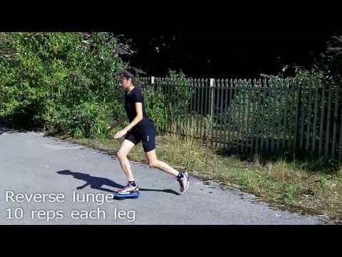 Dynamic Leg Strength for Runners Workout