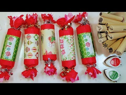 DIY Christmas Crackers // Party Favor-Gift Packaging-Advent Calendar Idea!