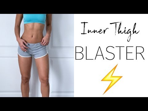 The BEST Inner Thigh Workout (FROM HOME!)