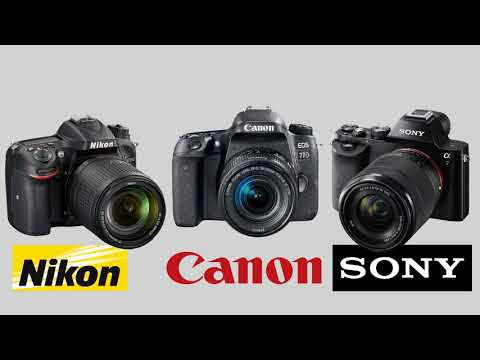 Photography In Sinhala 03 - How to choose a DSLR Camera