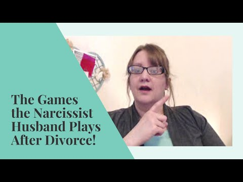 GAMES Narcissists Play AFTER DIVORCE | Abuse Recovery