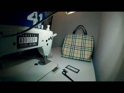 Trailer: Authentic Burberry Hangbag tear down deconstruction canvas vinyl or leather??
