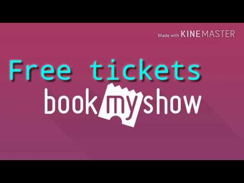 Free movie tickets booking on book my show