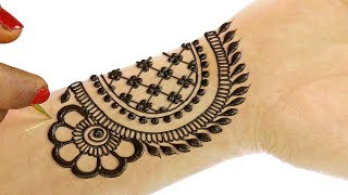 Mehndi Designs for Hands | Latest Simple Mehndi Design for Hands #39 @jaipurthepinkcity