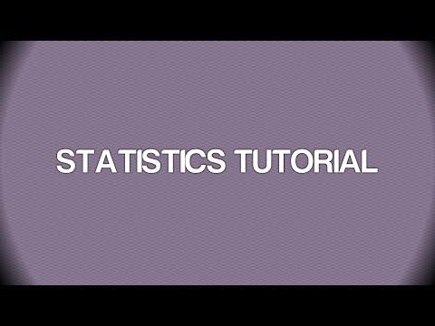EXCEL TUTORIAL - PREDICTION INTERVAL - STATISTICS