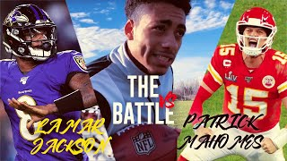 Patrick Mahomes vs Lamar Jackson   THE BATTLE